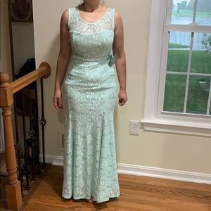 My michelle long dress gown